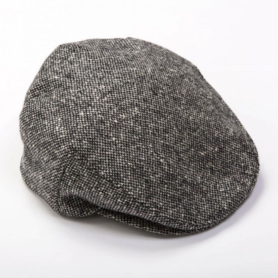 Original irische Tweed Mütze DONEGAL von der Weberei JOHN HANLY & Co.