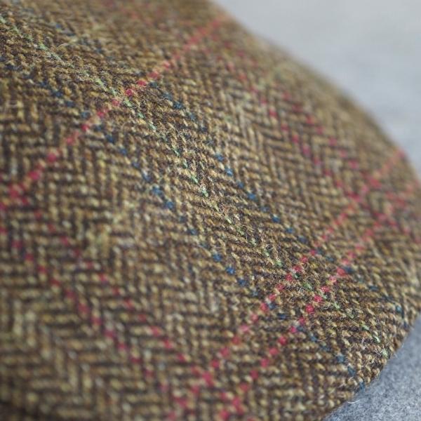 Original irische Tweed Mütze NENAGH von der Weberei JOHN HANLY & Co.