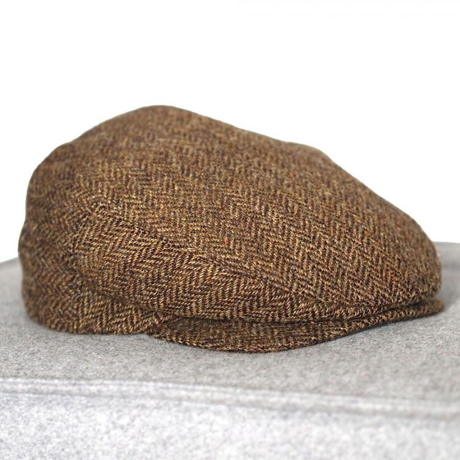 Original irische Tweed Mütze DERGH von der Weberei JOHN HANLY & Co.