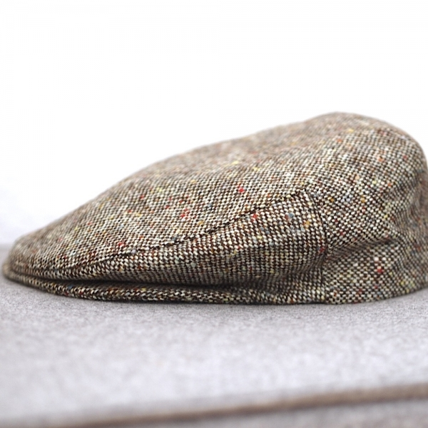 Original irische Tweed Mütze NEW LAHINCH von der Weberei JOHN HANLY & Co.