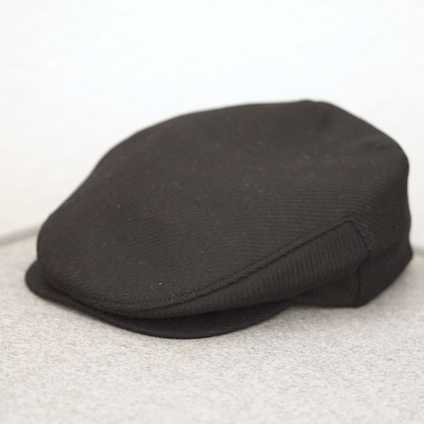 Tweed Cap / BLACK SLATE