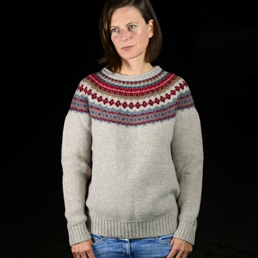 reputable site 3b157 a61e3 Fair-Isle Pullover NINA N.