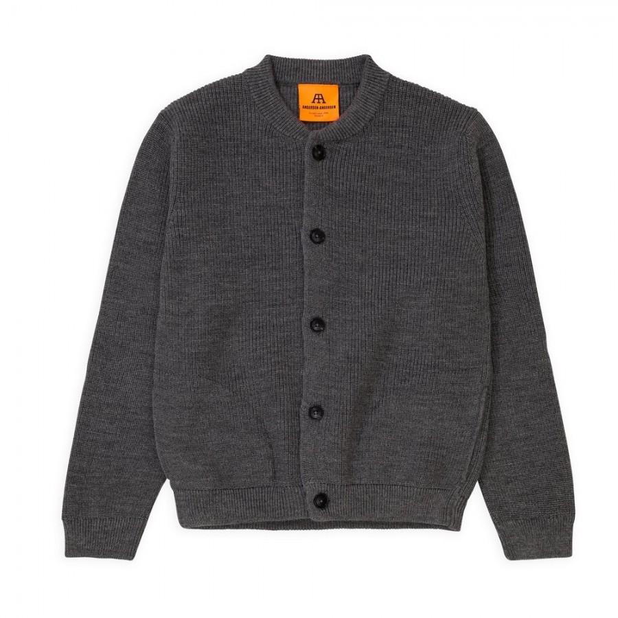 Schwere Unisex-Cardigan der Extraklasse – vom dänischen Design-Label ANDERSEN-ANDERSEN