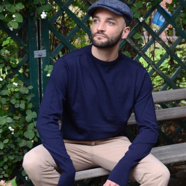 Leichter Seemanns-Pullover für Liebhaber authentischer Wollpullover vom dänischen Label ANDERSEN-ANDERSEN