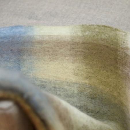 Irische Mohair-Wolldecke IRELAND aus der Weberei JOHN HANLY & Co.