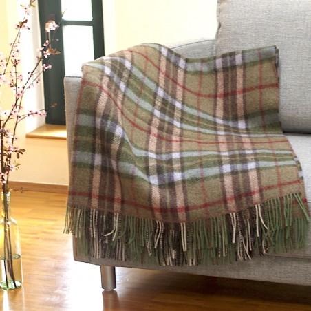 Robuste Wohn- oder Picknick-Decke KNIGHTS TOWN von der irischen Weberei JOHN HANLY & Co.