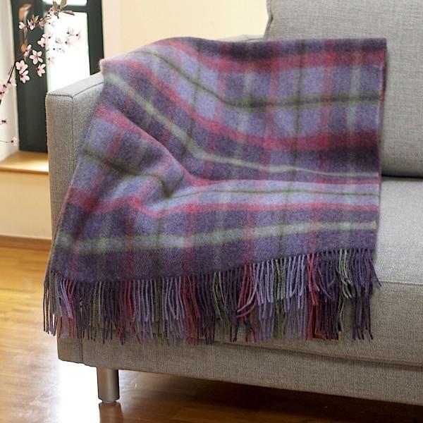 Robuste Wohn- oder Picknick-Decke BALLYANNY von der irischen Weberei JOHN HANLY & Co.