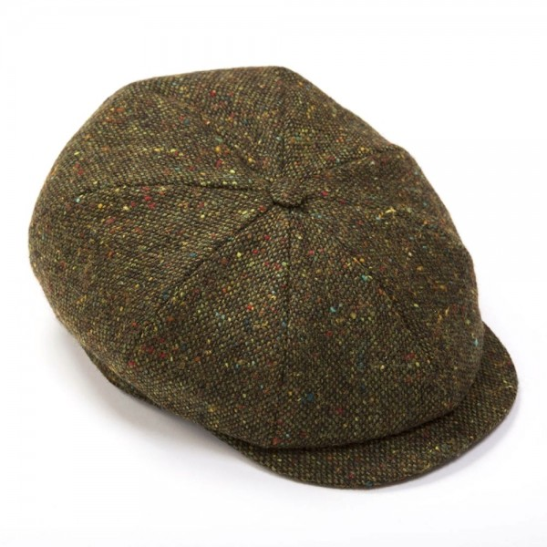 Irische Tweed Mütze 8 PIECES von der Weberei JOHN HANLY & Co.