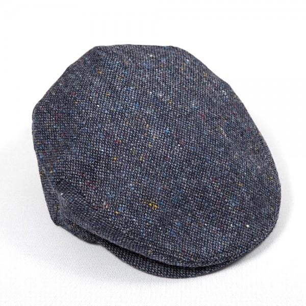 Original irische Donegal-Tweed Mütze WHELAN´S von der Weberei JOHN HANLY & Co.