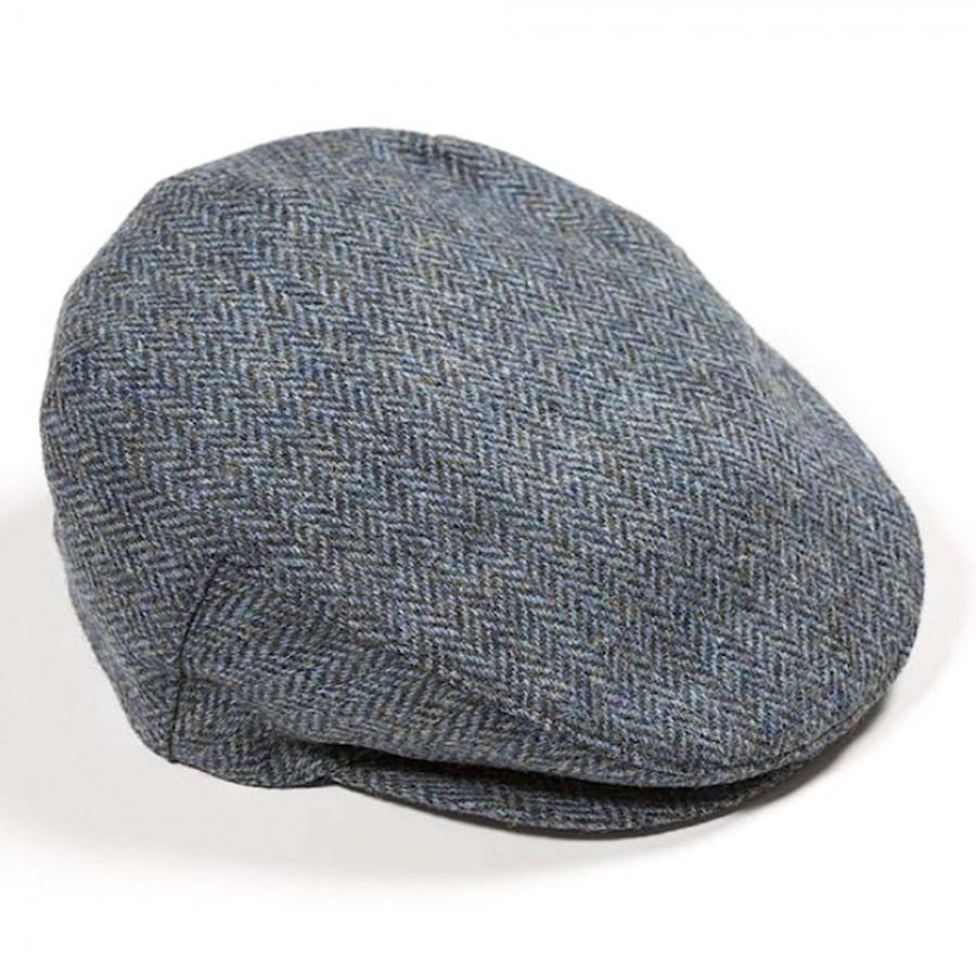 Original irische Donegal-Tweed Mütze STAG´S HEAD von der Weberei JOHN HANLY & Co.