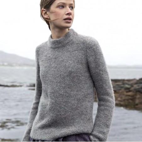 Sehr leichter und eleganter Damen-Pullover aus Baby-Alpaka von Fisherman out of Ireland