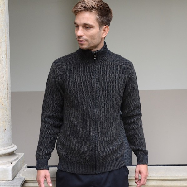 Aran Rollkragenpullover von Fisherman out of Ireland