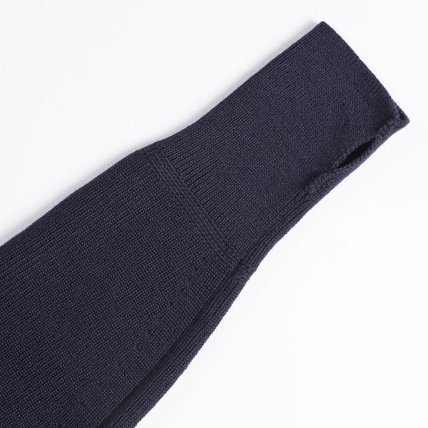Klassischer Seemanns-Pullover im Rippenstrick mit Rollkragen