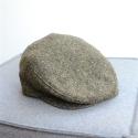 Original irische Tweed Mütze GREEN LAHINCH von der Weberei JOHN HANLY & Co.