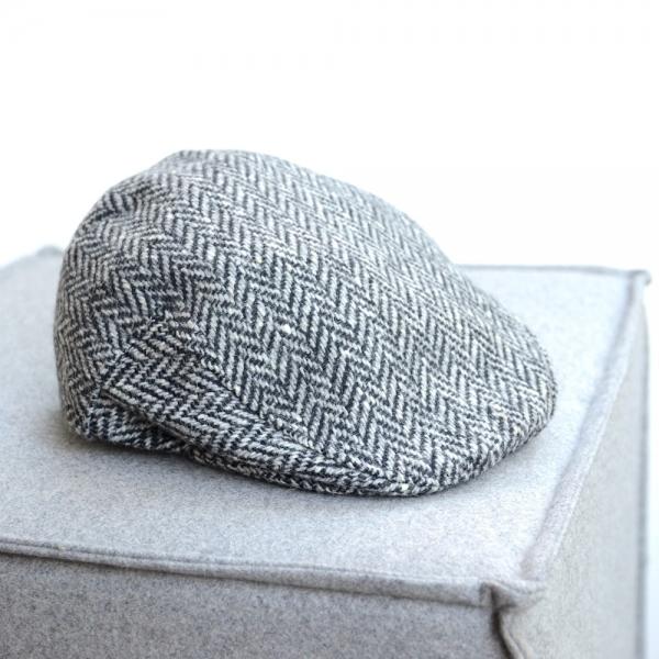 Original irische Tweed Mütze VALENTIA von der Weberei JOHN HANLY & Co.