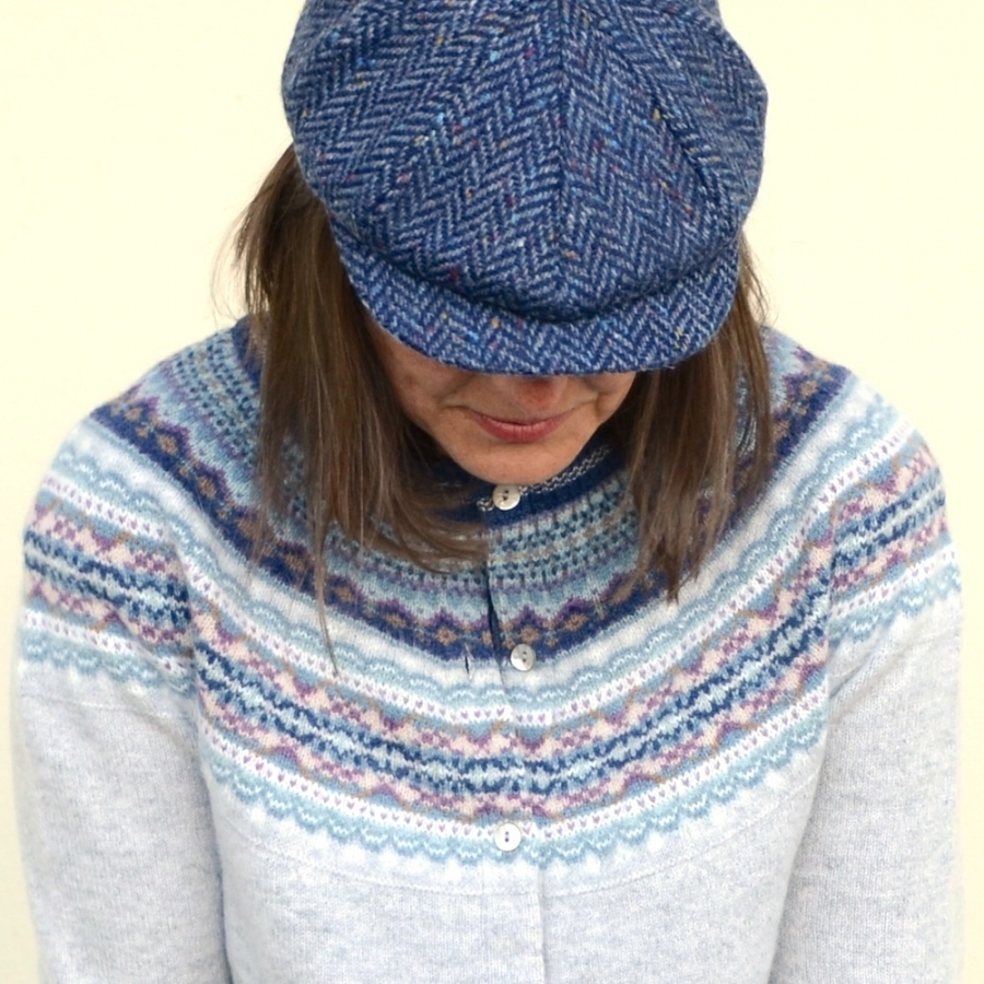 Amy D. | Fair Isle Cardigan von Eribé