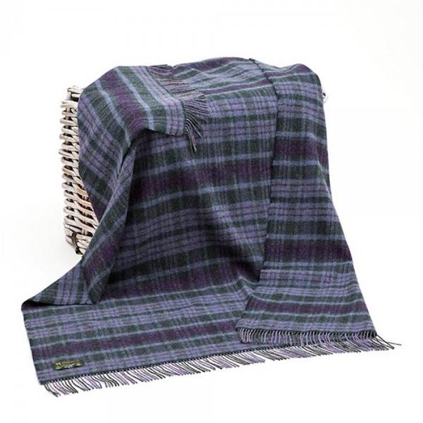 Robuste Wohn- oder Picknick-Decke von der irischen Weberei JOHN HANLY & Co.
