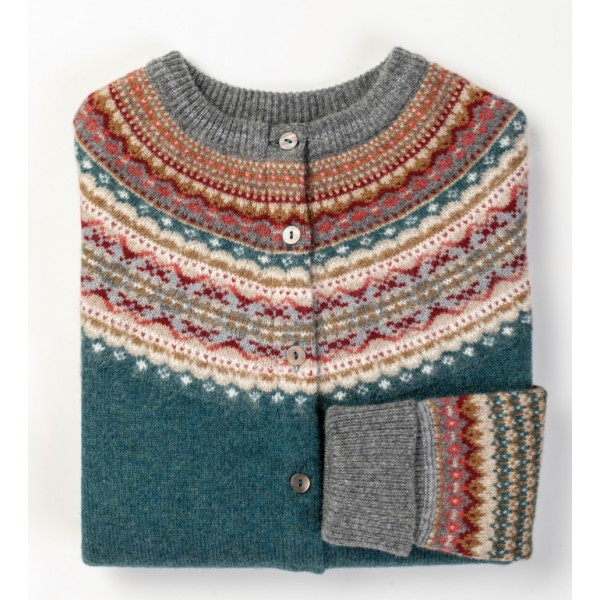 Fair-Isle Cardigan AMY D. |...