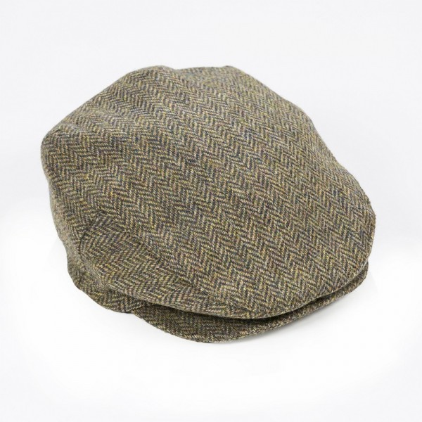 Original irische Tweed Mütze aus der Weberei JOHN HANLY & Co.