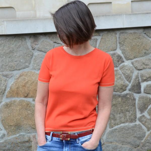 Jersey T-Shirt aus 100% ägyptischer Eco-Baumwolle vom französischen Label LES RACINES DU CIEL.
