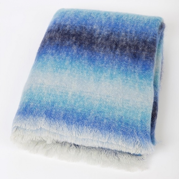Mohair Decke OCEAN SPRAY