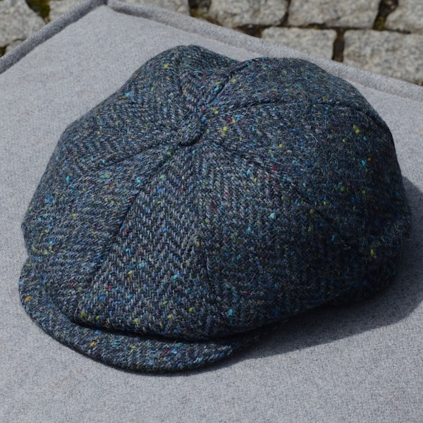 Tweed Cap | 8 Pieces | Sea