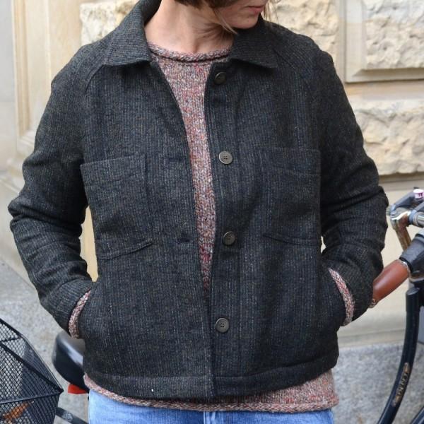 Leichte Damen Tweed Jacke vom norwegischen Label JOHNNYLOVE
