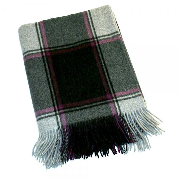 Merino-Lambswool Decke SHANNON