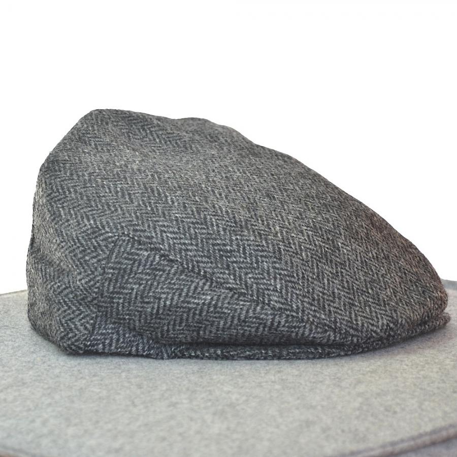 Original irische Tweed Mütze TORY ISLAND von der Weberei JOHN HANLY & Co.