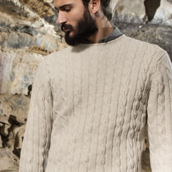 Wählen Sie für späteste große sorten Größe 40 Wollpullover aus Irland   Mit Stil gegen den Wind   THE ...